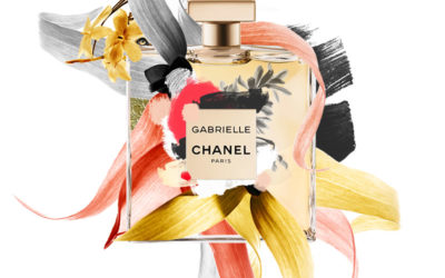 Artwork Marie Claire x Chanel