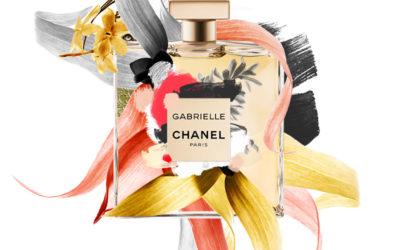 Arte para taller promocional de la fragancia Gabrielle de Chanel con Marie Claire